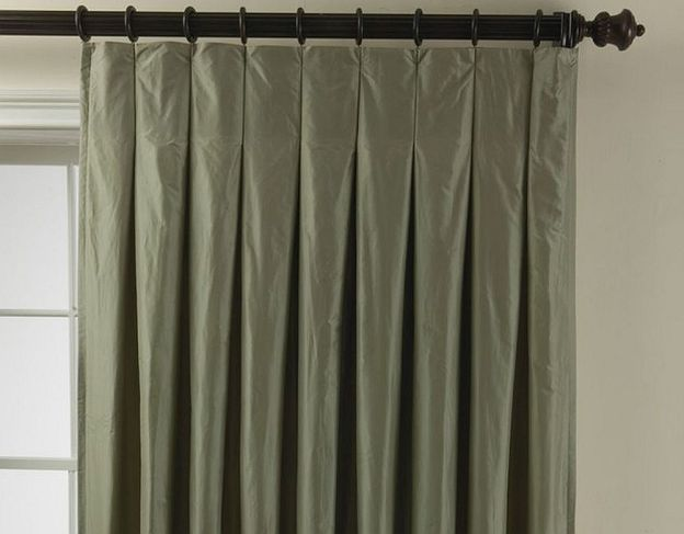 Image Result For Pencil Pleats Curtains