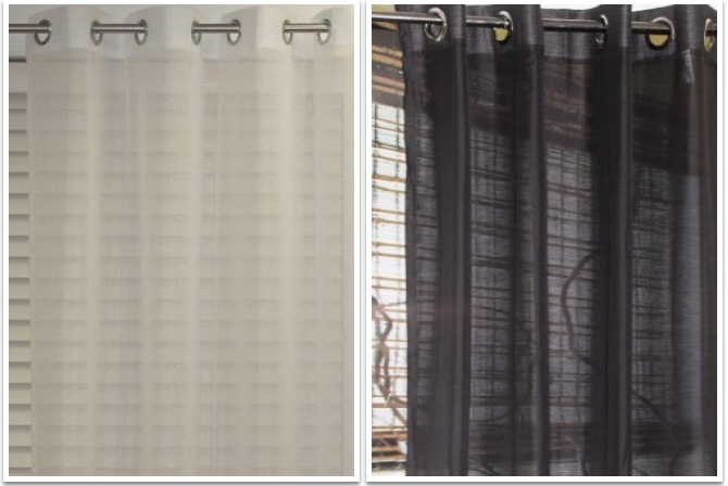 Layering- curtains and blinds